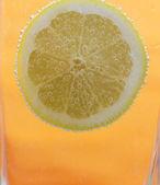 Fresh lemon slice — Stock Photo