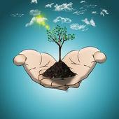Eco concept — Stock Photo