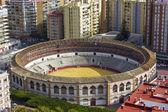 Bullfighting arena in Malaga — Stock Photo