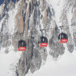 Chamonix - Cable Car - Mont Blanc — Stock Photo #13462485