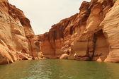 Antelope canyon lake powell stránky — Stock fotografie
