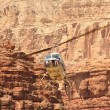 Helicopter ride in Havasupai Tribe - Grand Canyon — Foto Stock #34897677