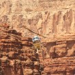 Helicopter ride in Havasupai Tribe - Grand Canyon — Stok Fotoğraf #34897705