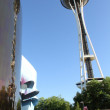 Space Needle - Seattle — Stock Photo