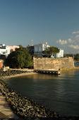 Pier in puerto rico — Stock Photo
