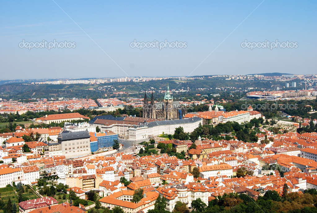 View of the city prague — Stock Photo #13918270