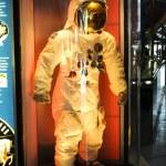Astronaut costume — Stock Photo