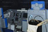 Shuttle interior — Stock Photo