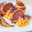Veal roulade — Stock Photo