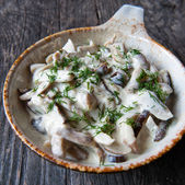 Mushrooms dish — Stock Photo