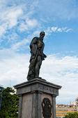 Statyn till pedro de heredia i cartagena, colombia — Stockfoto