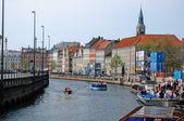 Nyhaven Waterside Copenhagen, Denmark — Stock Photo