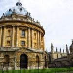 Камера Рэдклиффа частью Бодлеанской библиотеки, Оксфордский университет — Стоковое фото