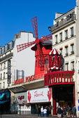 Moulin Rouge Building, Paris — Stock Photo