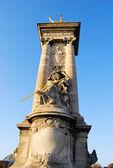Pont Alexandre Statue — Stock Photo