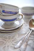 Tea cups — Stock Photo