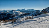 Alpen im winter — Stockfoto