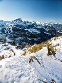 Alpes en invierno — Foto de Stock