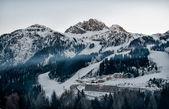 Alpen im winter — Stockfoto