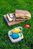Poppy seeds cake for Easter — Stock Photo
