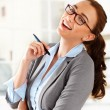 Attractive businesswoman — Foto de Stock