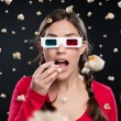 3D cinema-ervaring — Stockfoto