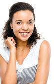 Mixed race woman — Stock Photo