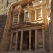 Stock Photo: Treasury facade in Petra