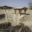 Baptism site in Jordan river — Stock Photo