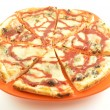 Stock Photo: Pizzon plate