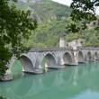 Stock Photo: Brdge on Drina