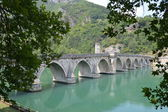 Brdge op drina — Stockfoto