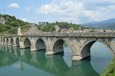 Brdge on Drina — Stock Photo