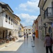 Stock Photo: Main street in town Andric