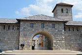 Entrance to Andric city in Bosnia and Herzegovina — ストック写真