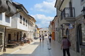 The main street in town Andric — Stock Photo
