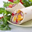 Wrap Sandwich — Stock Photo #13622213