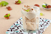 Banana ice cream — Stock Photo