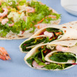 Salad wraps - Photo