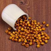 Spicy chickpea — Stock Photo