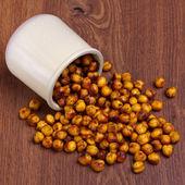 Spicy chickpea — Stock Photo