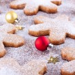 Baubles and cookies — ストック写真