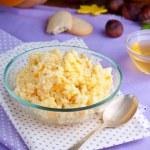 Porridge with pumpkin — Stock Photo #34265987