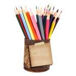 Closeup of various crayons — Stock Photo #29990441