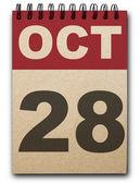 календарь — Стоковое фото