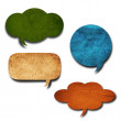 Speech bubble — Stock Photo