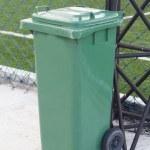 Yellow garbage bins — Stock Photo #32413337