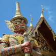 Wat Phra Kaeo in Bangkok, Thailand. — Stock Photo