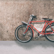 Stock Photo: Red bicycle