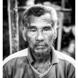 Fisher man in Hua Hin Thailand — Stockfoto